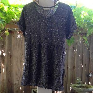 oh! mamma Tops - Cute Henley Dress / long top
