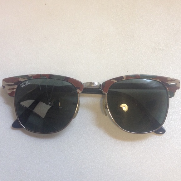 ray ban glasses broken  ray ban accessories broken ray ban clubmaster sunglasses khaki