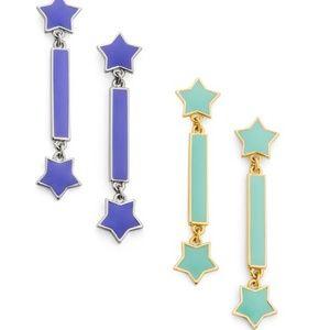 JEWELMINT SHOOTING STAR EARRINGS - BRAND NEW IB