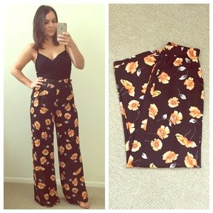 Forever 21 Pants - Forever 21 Floral Pants