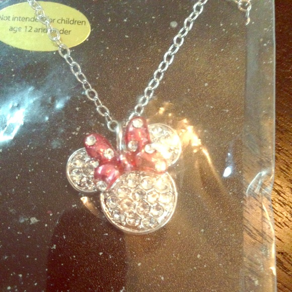 d693ca8ed6e80 Swarovski Crystal Minnie Mouse necklace NWT