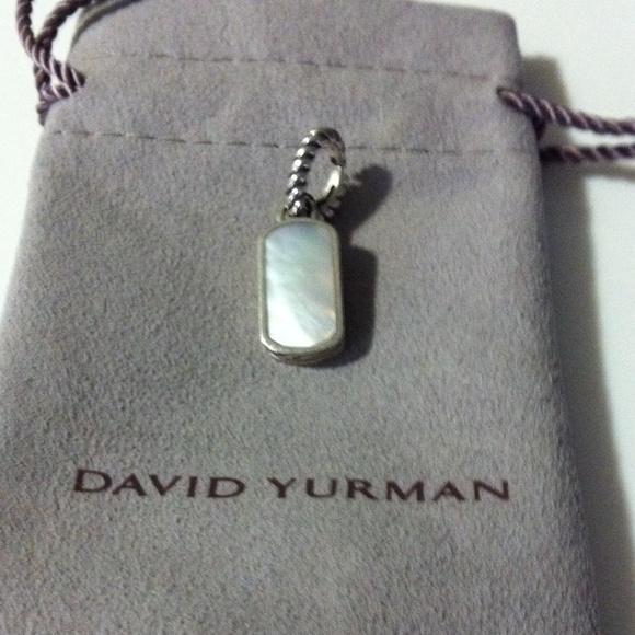 david yurman jewelry david yurman mother of pearl dog tag style