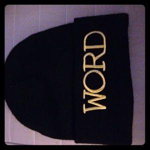Word hat