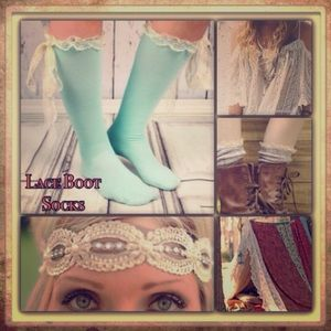 Boutique Accessories - Pastel Boot Socks