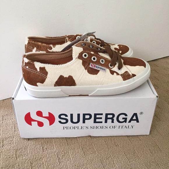 Superga Shoes   Superga Leahorse Cow