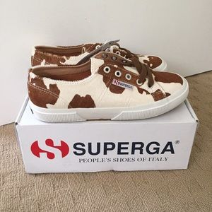 Superga Leahorse Cow Sneakers *NEW*