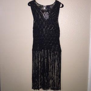 NWOT H&M fringe blouse size 4