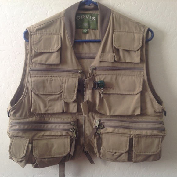 65 off orvis jackets blazers orvis fishing vest from for Orvis fishing vest