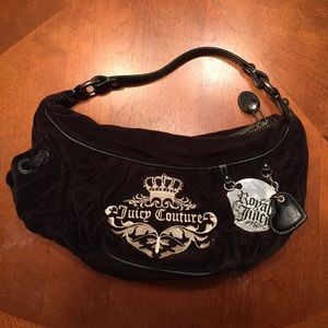 Juicy Couture velvet purse.