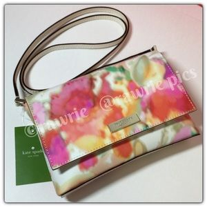 New Kate Spade floral summer purse