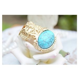 Jewelry - 🚫SOLD🚫Turquoise Oval Ring