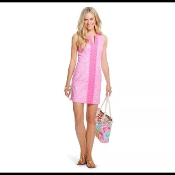 400398db6e0 Lilly Pulitzer for target pink shift dress. Size 2