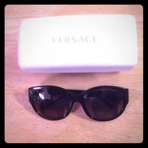 Authentic Versace Black Sunglasses