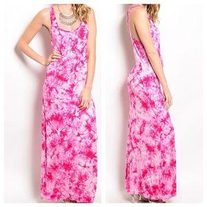 Dresses & Skirts - ‼️SALE‼️Pam Tie Dye Maxi