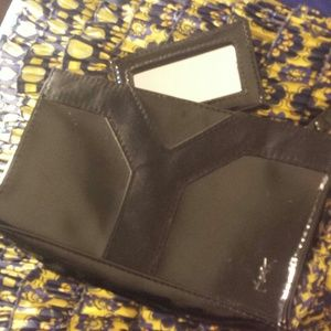 Yves Saint Laurent - YSL beauty portable mirror and pouch from ...