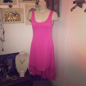 Angie Dresses & Skirts - Pink High Low Dress