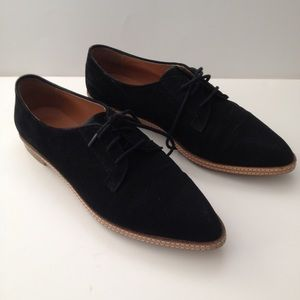 silence + noise Shoes - Black oxfords