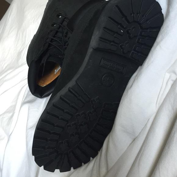 Botas Timberland Negro De Las Mujeres El Tamaño De 7 W69O1