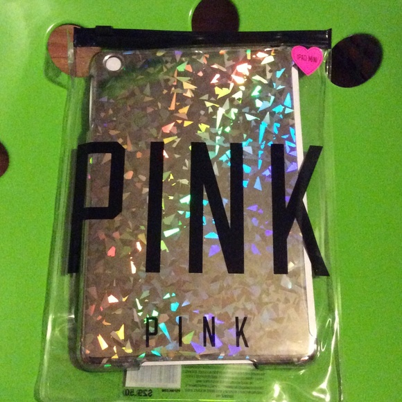 d07ab7d8ae644 NWT VS PINK IPAD MINI HOLOGRAPHIC CASE NWT