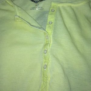 American Eagle Outfitters Tops - NWT AMERICAN EAGLE SMALL yellow top $8 LOWEST