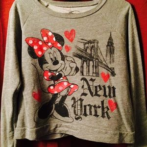 Sweaters - minnie mouse long sleeve