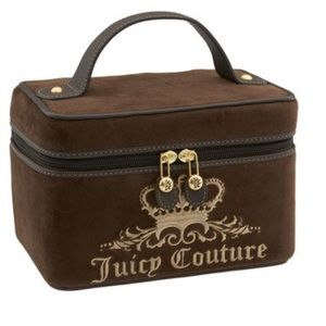 Juicy Couture velour train case