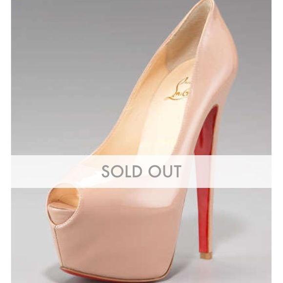 christian louboutin highness 160mm