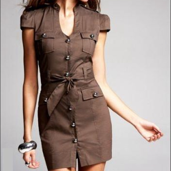 869afce4a8 Military inspired shirt dress by Express. M 553e75c2c7dcbf4254012202
