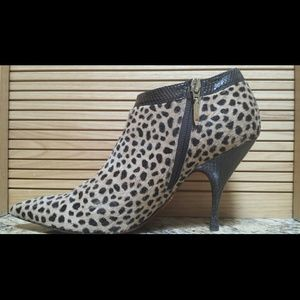 cesare paciotti Shoes - Cesare Paciotti Italian cheetah booties HP