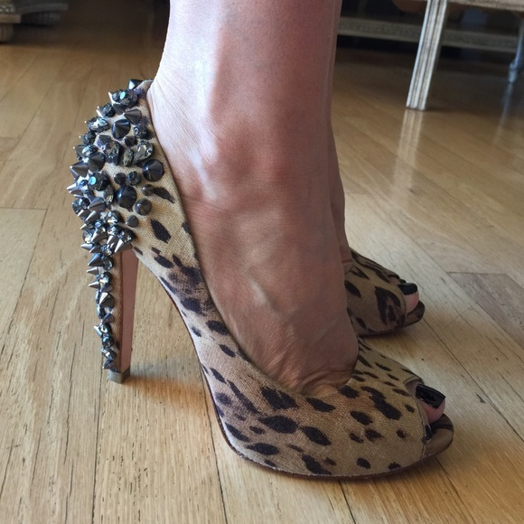 e0275089144c4 Leopard print Sam Edelman spike heels. M 553e80996e3ec27a64012399