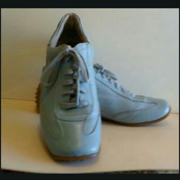 76 bronx shoes bronx sports blue leather athletic