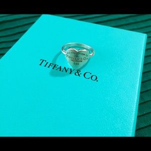Authentic Return to Tiffany Heart Ring