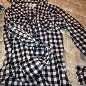 derek heart flannel