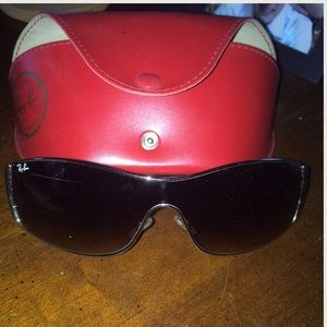 Authentic Raybans with case