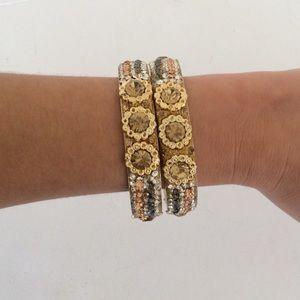 Chamak by priya 2 Bangle Bracelet