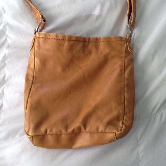 Bags - light brown cross body purse