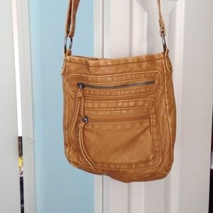 Handbags - light brown cross body purse