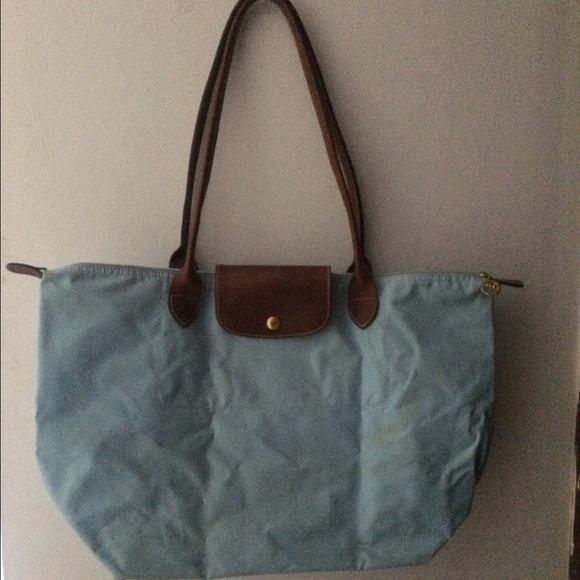 73cd434f465 Longchamp Handbags - Baby Blue Longchamp