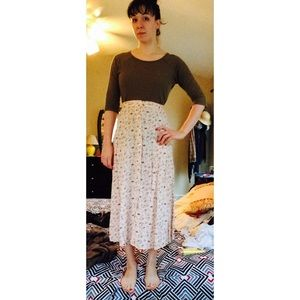 A. Byer Dresses & Skirts - Pastel Floral Maxi Skirt