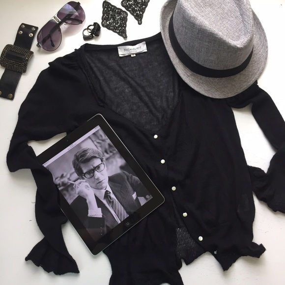 • 2x HOST PICK • | YSL Black Classic Sweater |