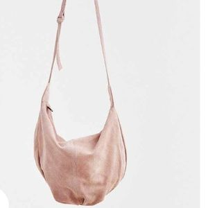 Urban Outfitters ecote suede pink bag