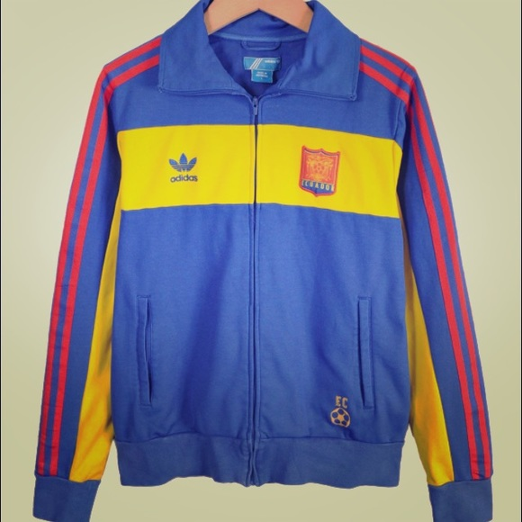 adidas jackets coats originals ecuador retro track jacket poshmark. Black Bedroom Furniture Sets. Home Design Ideas