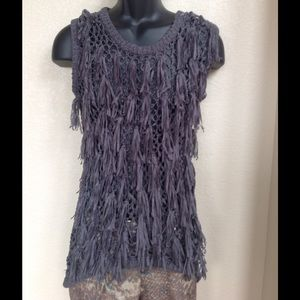 2X HPNWOT! SEXY KNITTED HIGH-LOW TUNIC!