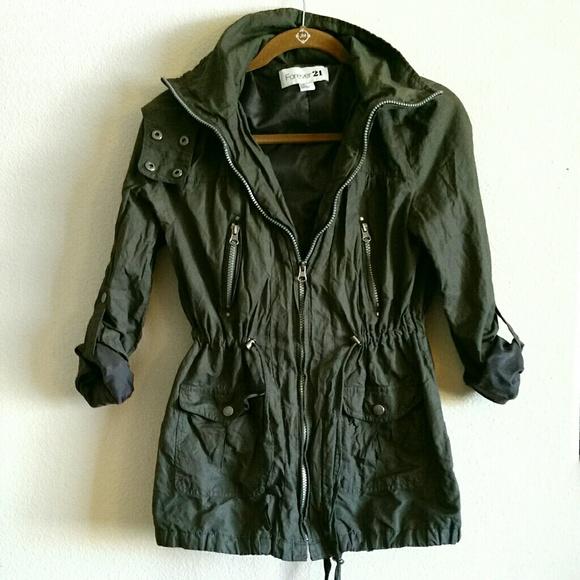 Dark Green Jacket CFbo80