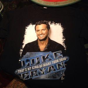 Tops - Luke Bryan That's My Kind Of Night Tour T-shirt