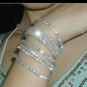 Jewelry - RHINESTONE SKINNY BRACELETS