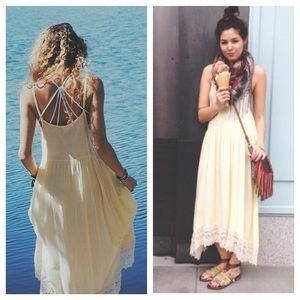 PM Editor Pickfree people crochet maxi slip