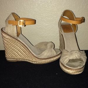 Tory Burch Espadrilles Wedges