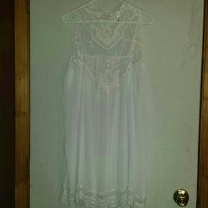 ManGa Dresses & Skirts - Boho Style Sheer Dress