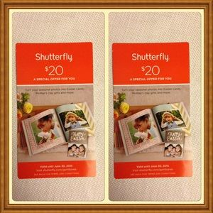 Other - Shutterfly cards value $40